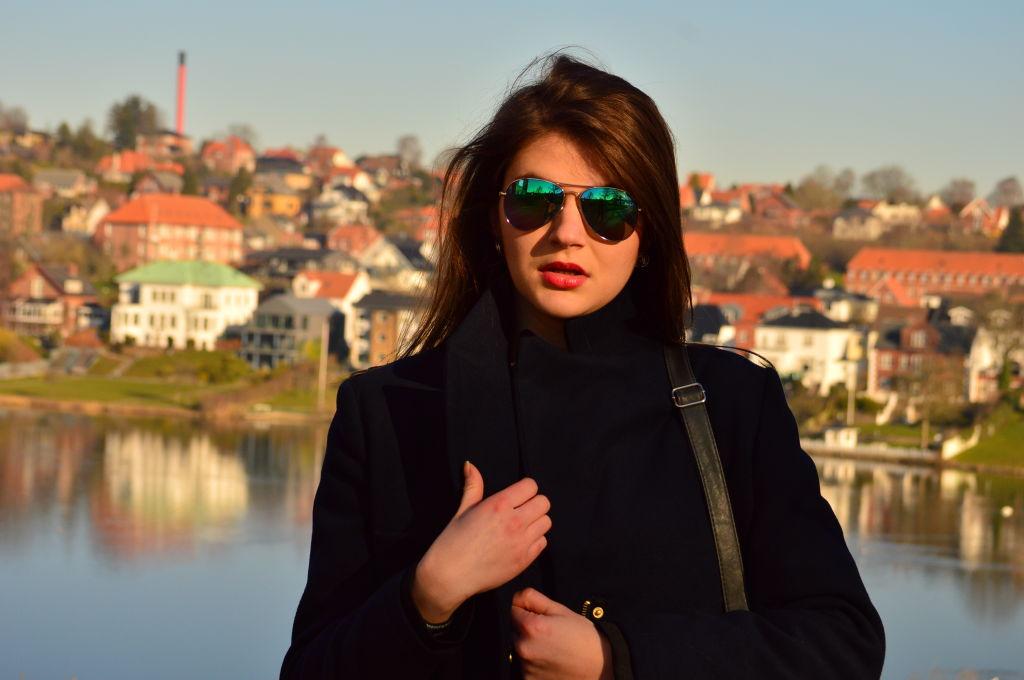 mirrored sunglasses, blogger in denmark,student life,glamthug,daily style,aztec blazer