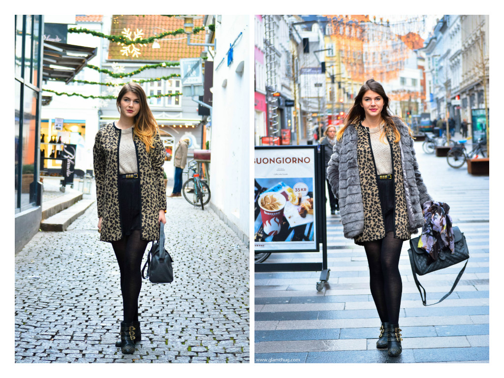 animal print jacket, when in aarhus blog, glamthug blog, daily style photos, last month of the year,ultima luna a anului,cum ma imbrac iarna, what to wear during the winter,photos taken with nikon d3200,lifestyle blogger, life of a student abroad,poze din bacau iarna,