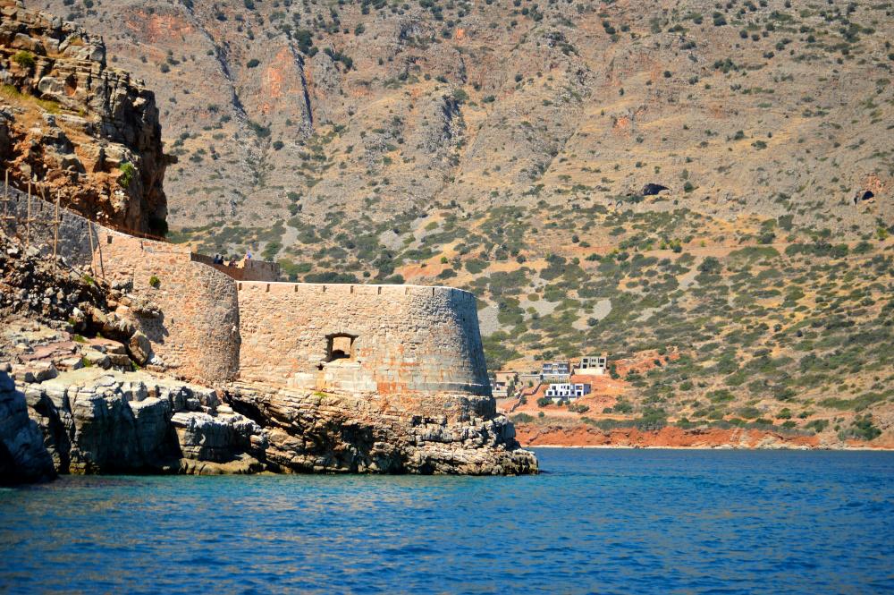 boat, Island in Crete, landscape in greece
