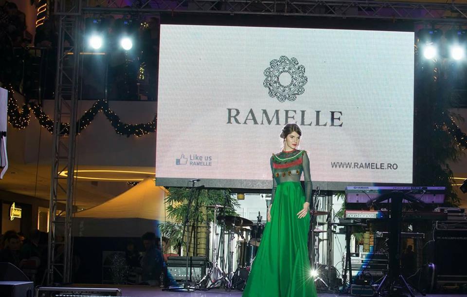 ramelle green dress