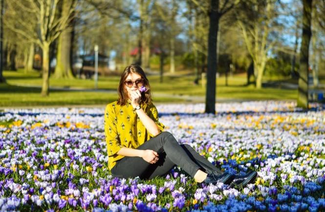 spring in denmark, life in horsens,student life in denmark