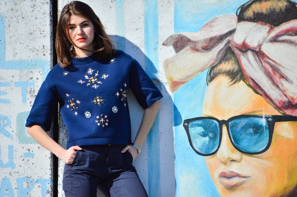 oversized shirt,street art denmark, embellished shirt,lifestyle blogger,the suede jacket,glamthug,cerasela bortos