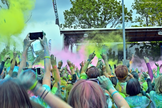 zulu the color run, color run aarhus,lifestyle blogger in denmark, glamthug blog,the color run danmark, events in aarhus