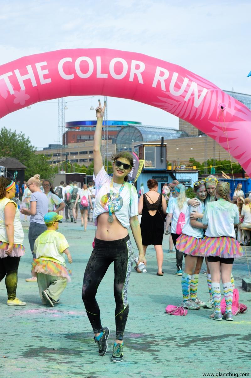 zulu the color run, color run aarhus,color run danmark, glamthug blog,events in aarhus
