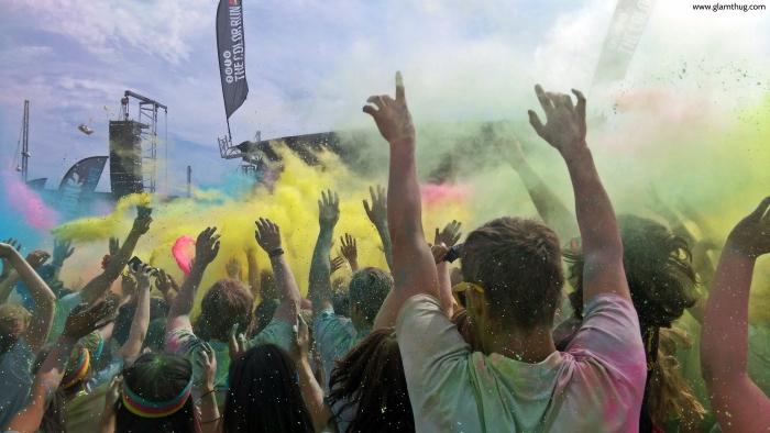zulu the color run, color run aarhus,color run danmark, glamthug blog,events in aarhus, photos color run denmark