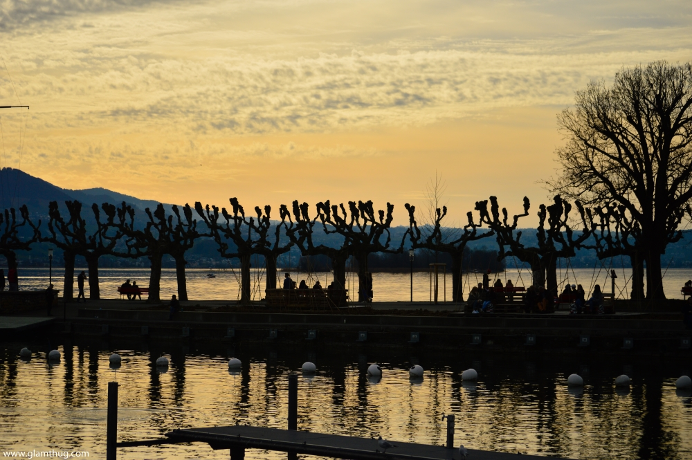 sunsets in rapperswil