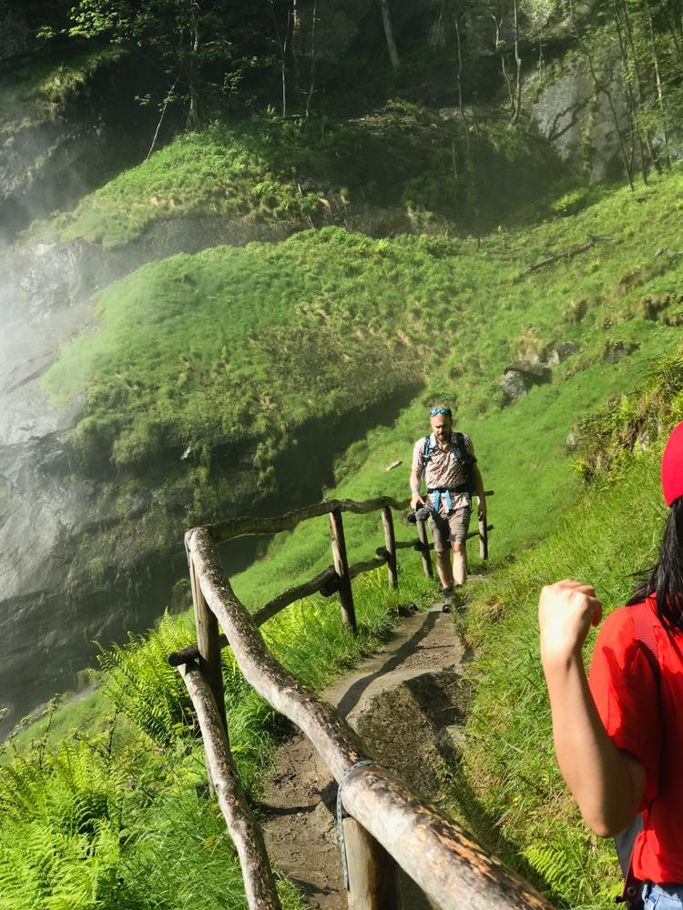 visit italian part of switzerland, my ascona locarno, bloggers trip in switzerland, waterfalls in switzerland