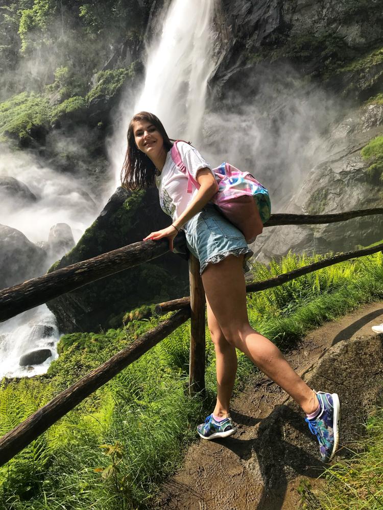 foroglio waterfall hike
