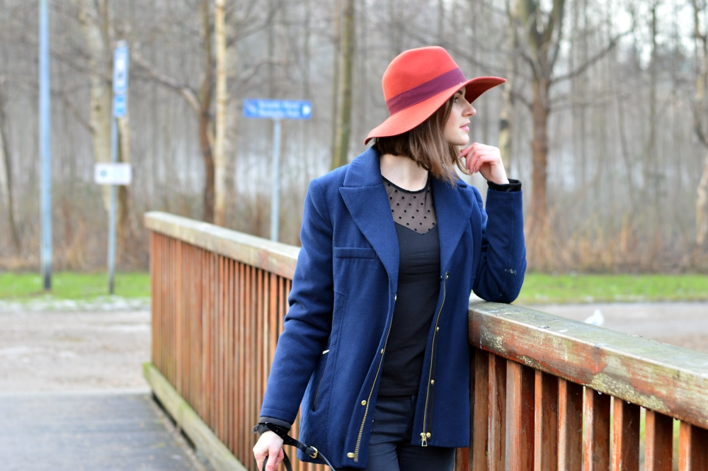 How to wear a hat, backpack trend blog