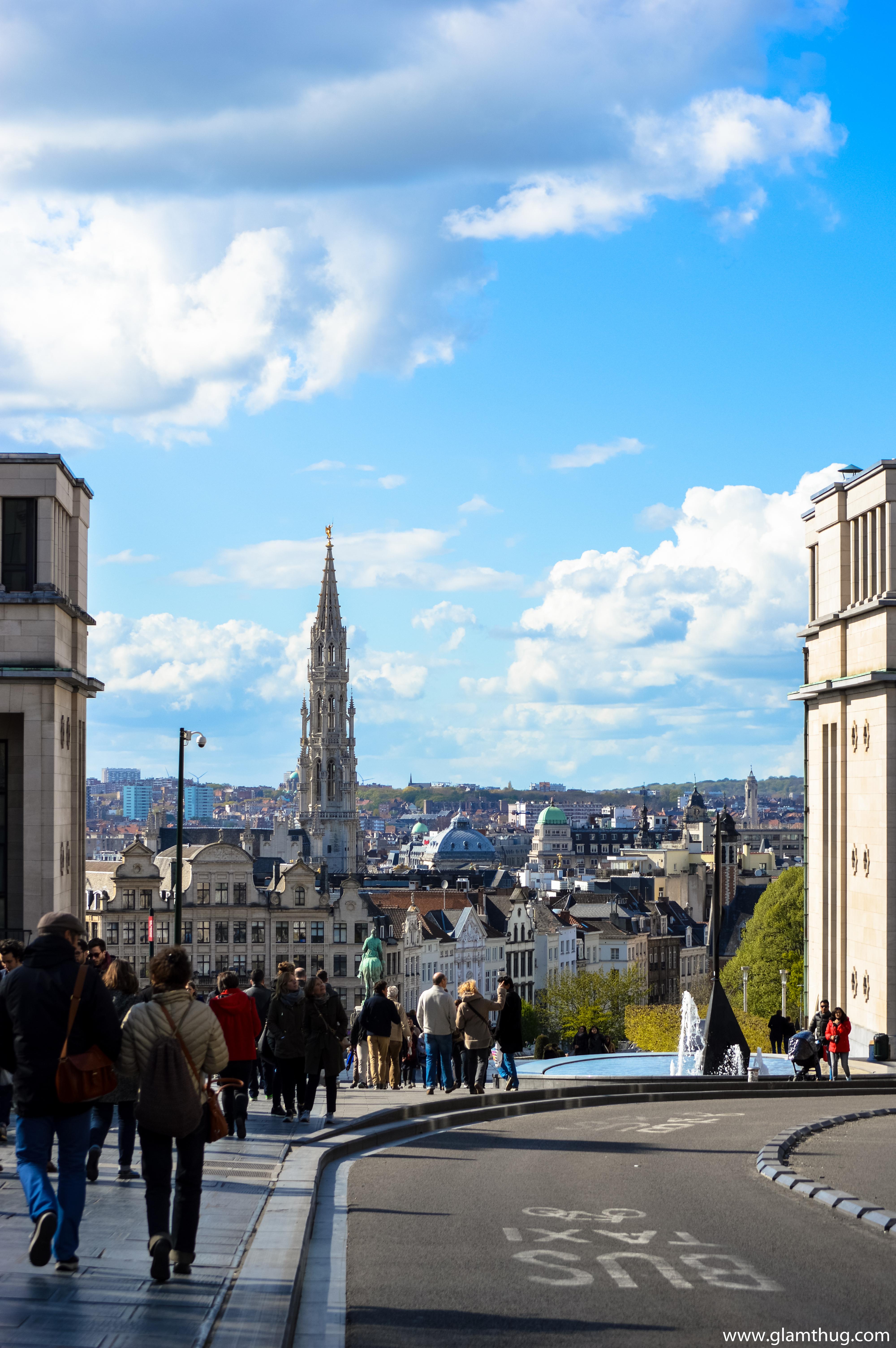 monts des arts,beautiful places in bruxelles,visit europe blog