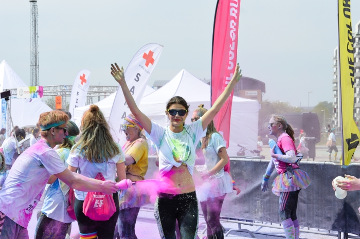 zulu the color run, color run aarhus,color run danmark, glamthug blog,events in aarhus